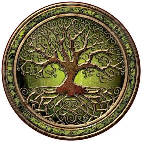 Irish Celtic Coaster - Tree Of Life